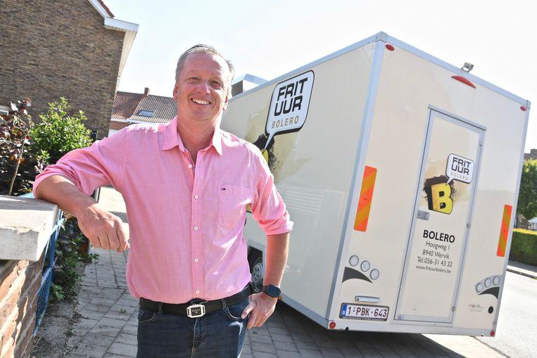 Philippe Laroye van cateringbedrijf Bolero ziet een drukke zomer aan zijn neus voorbijgaan.