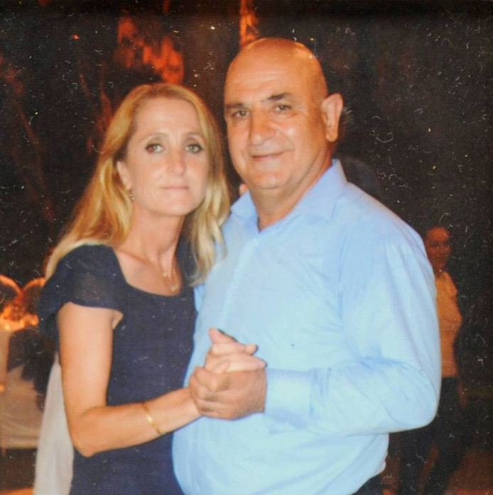 Ali Akyüz et son épouse.