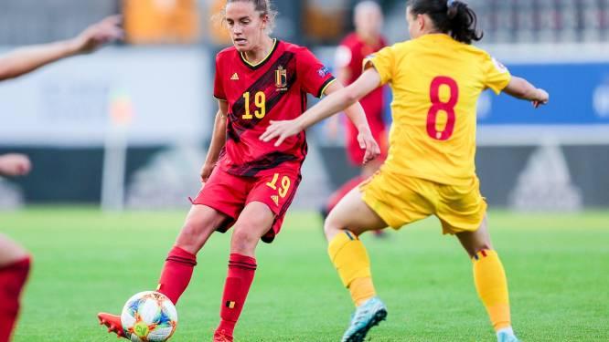 """Red Flame Chloé Vande Velde krijgt speelminuten in Litouwen: """"Leuk, maar je wil altijd meer"""""""