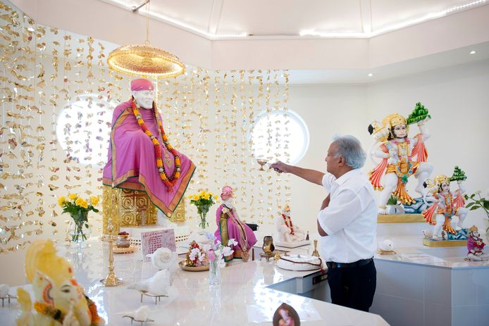 De Shirdi Sai Baba-tempel in Olst.