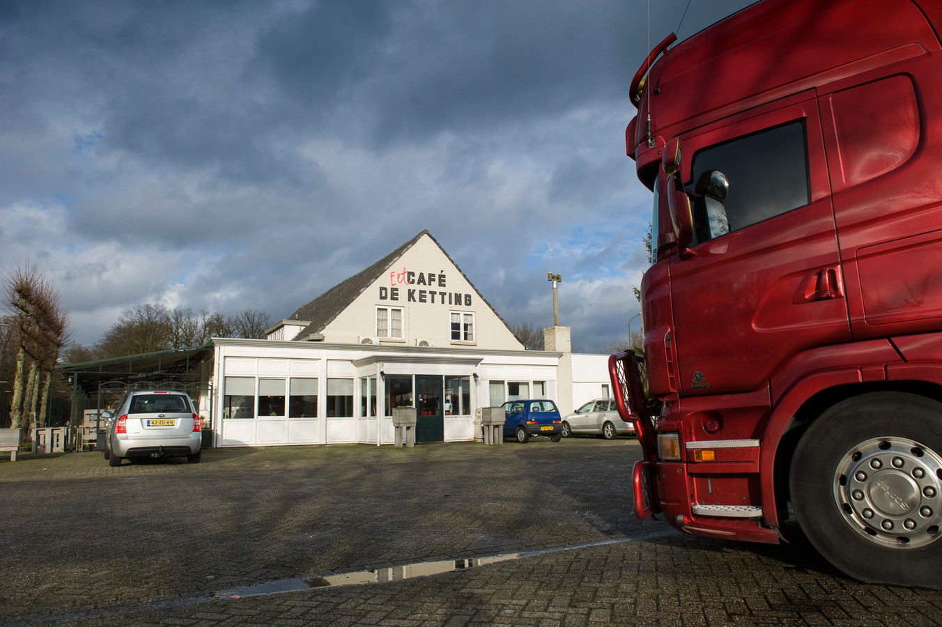 Ter hoogte van De Ketting aan de Bosscheweg in Boxtel werd meer verkeer geteld dan in 2012, maar op de rest van de route is het verkeer niet of nauwelijks toegenomen.
