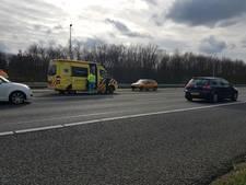 Botsing A35 bij Borne: ene automobilist neemt de ander mee in eigen auto