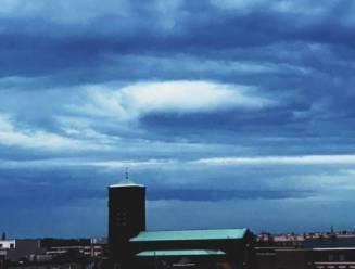 Die vreemde speciale wolk van gisteren? Zo heet het fenomeen