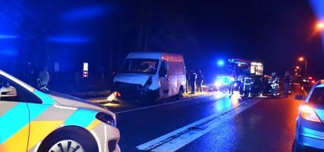 Drie gewonden bij ernstig verkeersongeluk in Den Ham