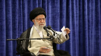 Iraanse grootayatollah Khamenei sluit oorlog met VS uit