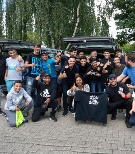 Jongeren van Samen op Straat gaan op kamp: Jinnih Beels zwaait hen uit
