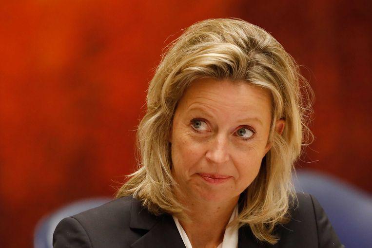 Kajsa Ollongren, Minister van Binnenlandse Zaken. Beeld ANP