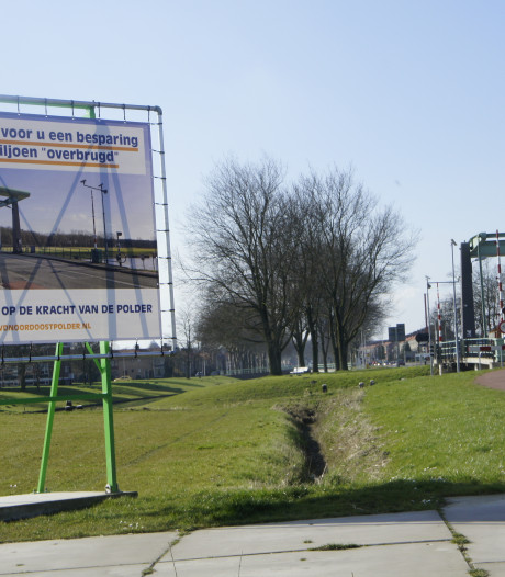 Storing verholpen aan Marknesserbrug in Emmeloord