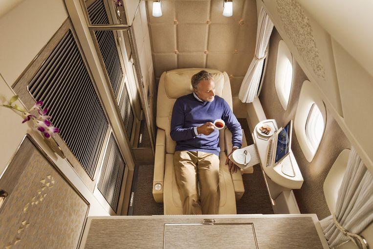 'Suite dreams': de suites in First Class van Emirates doen dromen.
