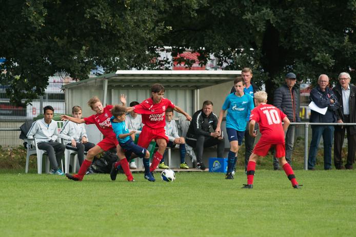 Zenit St. Petersburg en FC Twente speelden tegen elkaar in de editie van vorig jaar.