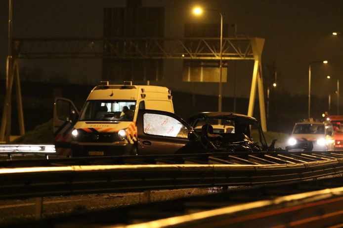 De auto van een van de slachtoffers.