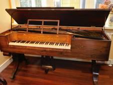 Tilburg vist achter het net:  piano van koning Willem II naar Zutphen