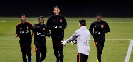 Fotoserie   Oranje werkt laatste training af voor duel met Duitsland