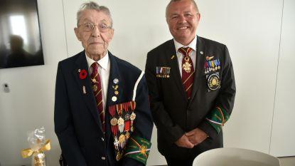Imosphinx Academy huldigt laatste oorlogsvrijwilliger in Wetteren