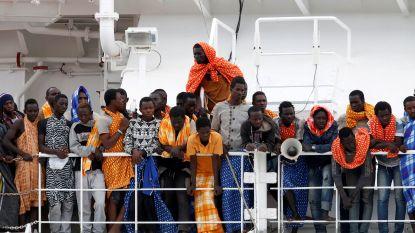 Europees akkoord gevonden: 131 geblokkeerde migranten mogen dan toch van boord