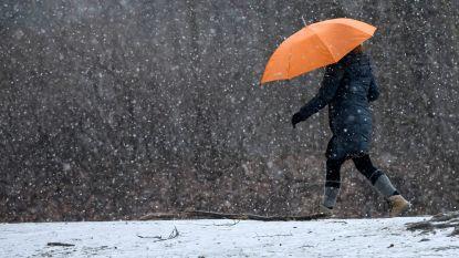 Vanaf woensdag wordt het flink kouder en kan het sneeuwen