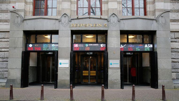 Archieffoto van de beurs in Amsterdam. Beeld anp