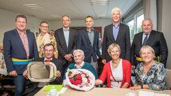 Germane 'Gert' Passchyn blaast 100 kaarsjes uit