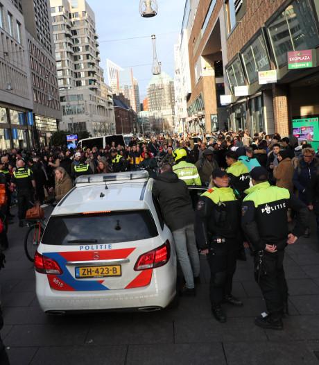 Raddraaiers krijgen waarschuwingsbrief na onrust Haags stadscentrum