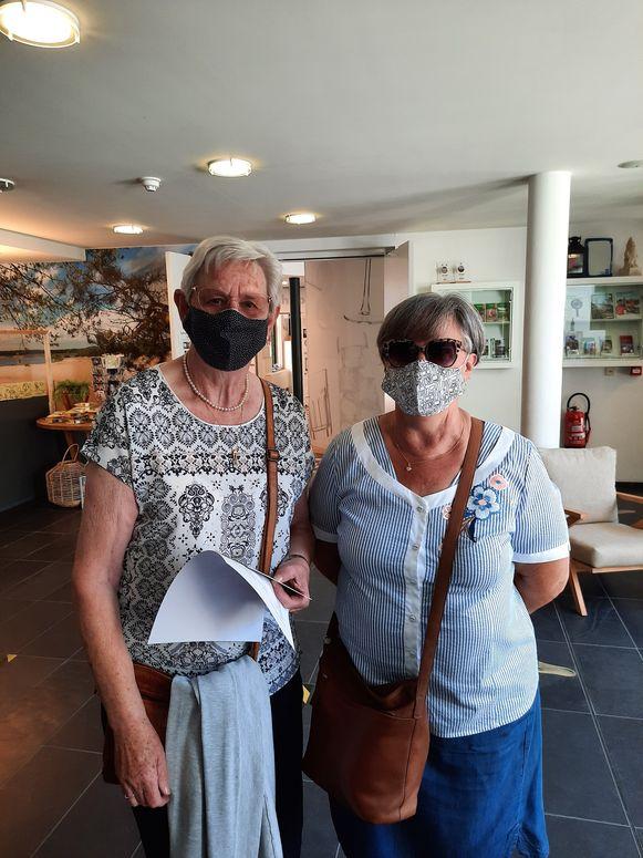 Nadine Swieter met haar nicht