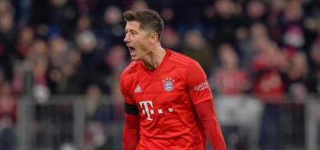 Lewandowski redt Bayern in doelpuntrijk treffen met hekkensluiter Paderborn