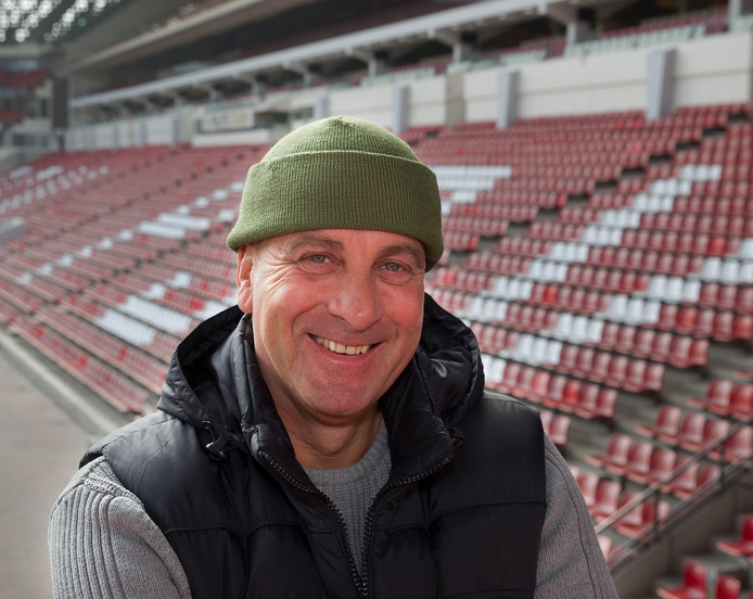 André Coensen, supporterscoördinator bij PSV.