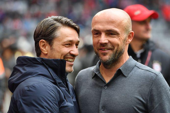 Niko Kovac en Alfred Schreuder.