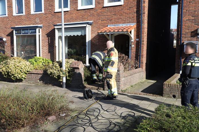 In een woning aan de Nimrodstraat in Nijmegen ontstond brand in een vaatwasser.