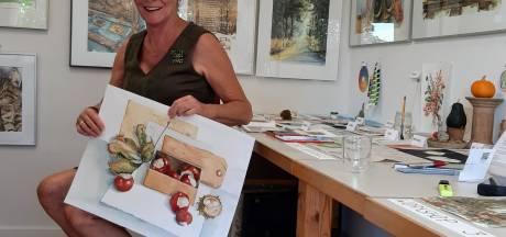 Kunstroute Beuningen in coronatijd: geen wijntje aan de tafel in de tuin