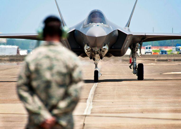 Een Amerikaanse versie van het F-35-toestel.  Beeld EPA
