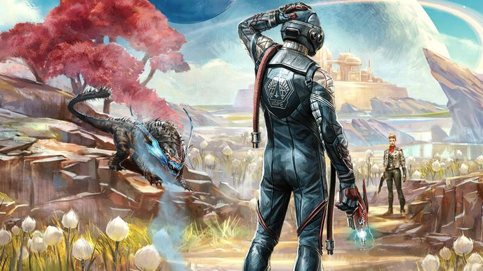 Affiche van The Outer Worlds