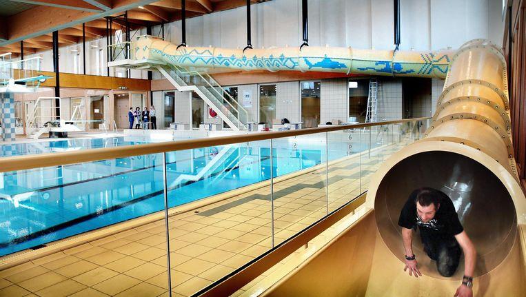 Architectuur en zwemplezier gaan in Noord hand in hand Beeld Jean Pierre Jans