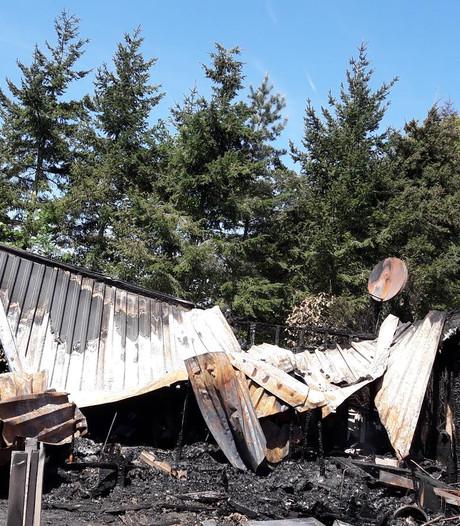 Chaletbrand Putten herinnert aan trauma