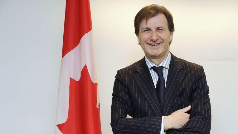 De Canadese amabassadeur Denis Robert.