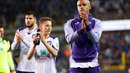 Kompany sprak met de Anderlecht-fans
