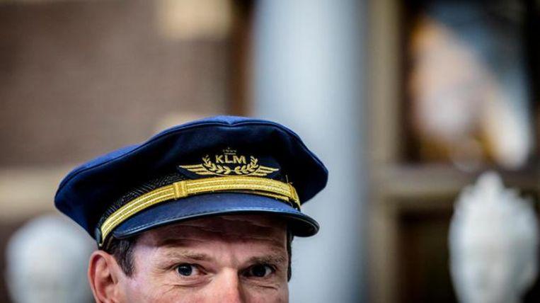 Eem piloot van KLM Beeld ANP