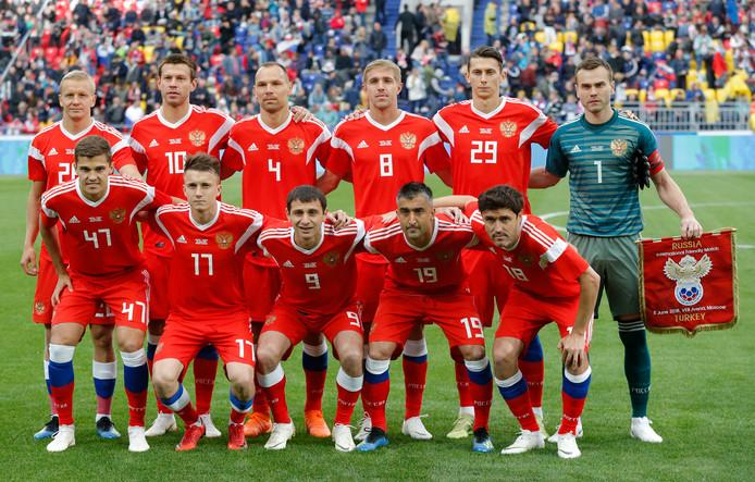 Gastland Rusland is op papier de zwakste schakel op het WK.