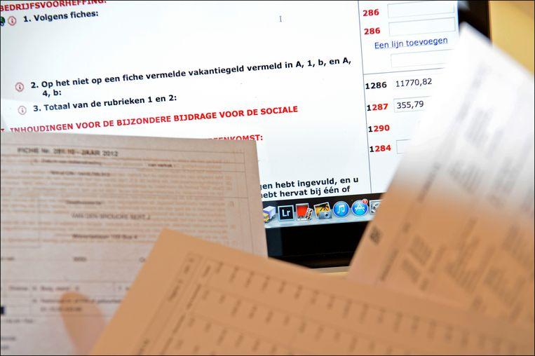 De site Tax-on-web. (archieffoto)