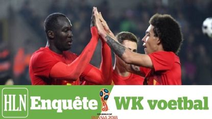 Doe mee aan de HLN-enquête over het WK voetbal en win één van de 25 duotickets voor de Rode Duivels