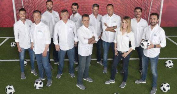 De WK-ploeg van Mediaset.