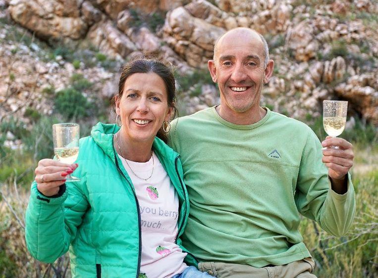 Hilde en Manu vonden elkaar via 'Boer zkt Vrouw - De Wereld Rond'.
