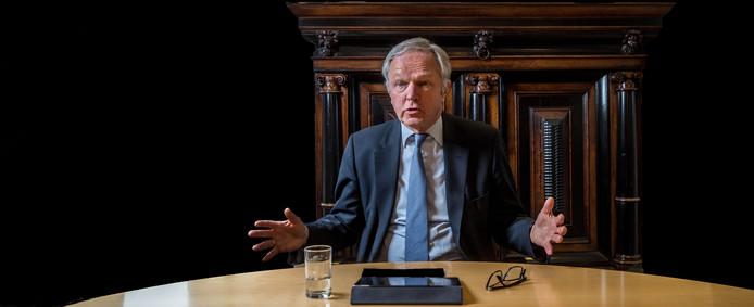 Burgemeester Henk Jan Meijer van Zwolle.