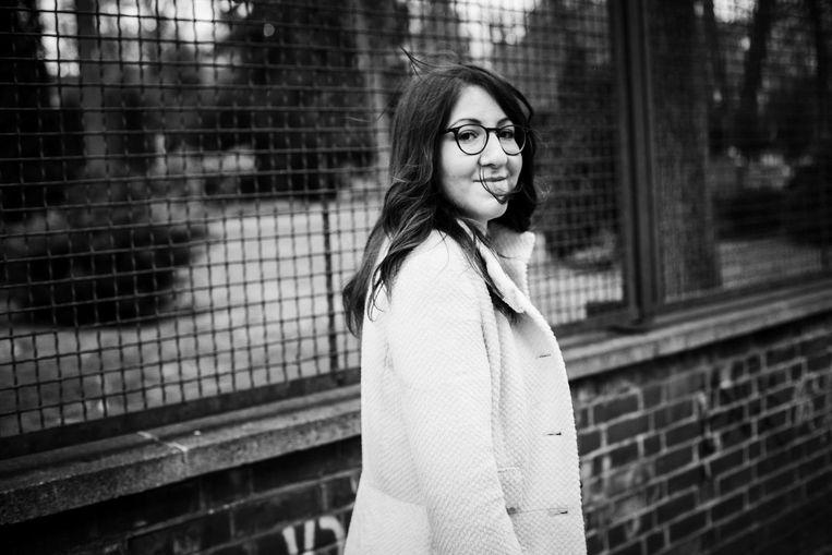 Deborah Feldman: `Er is een onzichtbare muur opgetrokken tussen mij en die gemeenschap. Duitsland is voor hen het land van de duivel.' Beeld Steffen Roth