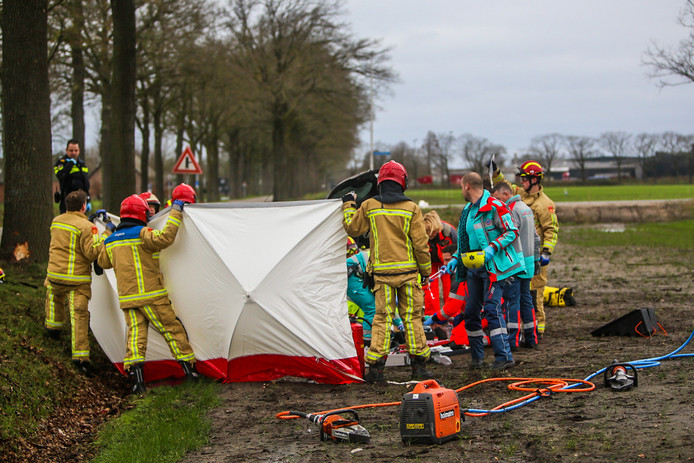 Ongeval op de Meijelseweg in Heusden.