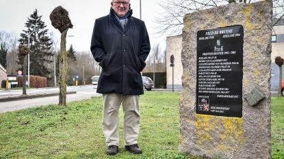 Vzw wil monument Fred De Bruyne opwaarderen tot rustplaats voor fietsers