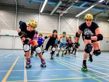 Rotterdam Roller Derby jubileert: stoere skaters sparen al tien jaar lang blauwe plekken