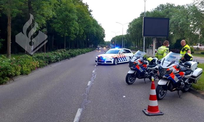 Politiecontrole na Emporium 2019.