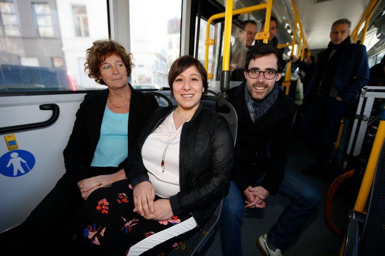 Petra De Sutter, Meyrem Almaci en Kristof Calvo