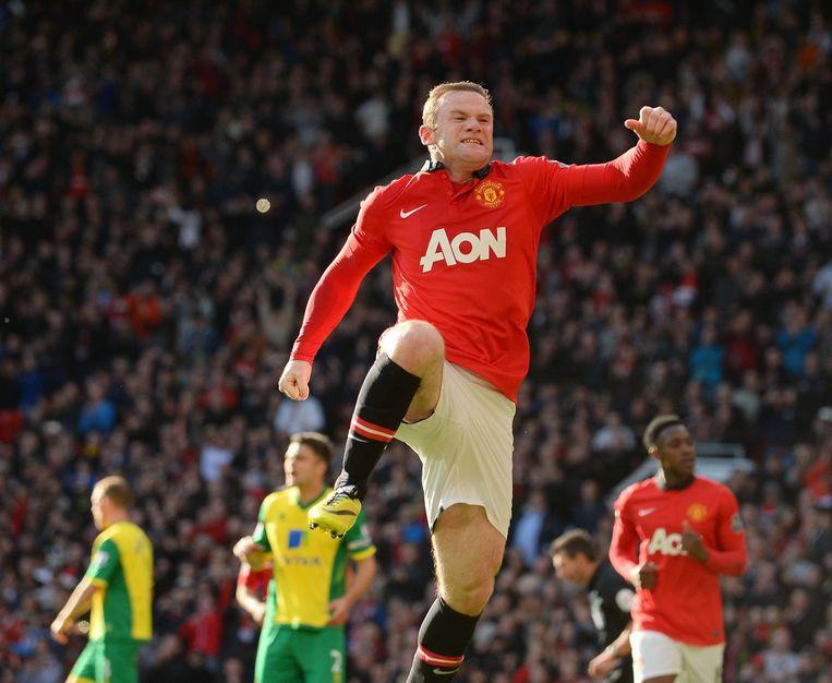 Wayne Rooney moet het gewicht van de Engelse aanval dragen