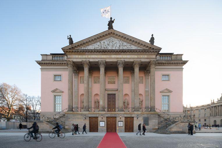 Aangezicht van de Staatsoper Unter den Linden. Beeld Marcus Ebener